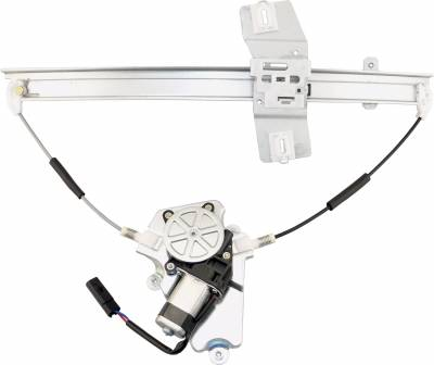 ACDelco - ACDelco Professional Front Driver Side Power Window Regulator with Motor 11A453