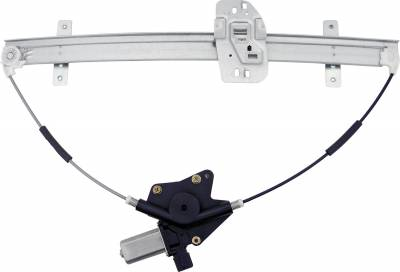 ACDelco - ACDelco Professional Front Driver Side Power Window Regulator with Motor 11A457