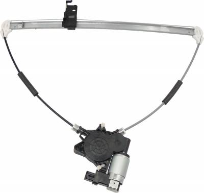 ACDelco - ACDelco Professional Rear Passenger Side Power Window Regulator with Motor 11A469