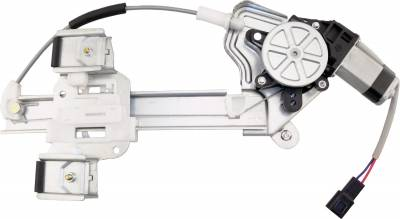 ACDelco - ACDelco Professional Rear Passenger Side Power Window Regulator with Motor 11A477