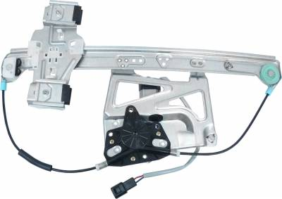 ACDelco - ACDelco Professional Front Passenger Side Power Window Regulator with Motor 11A479