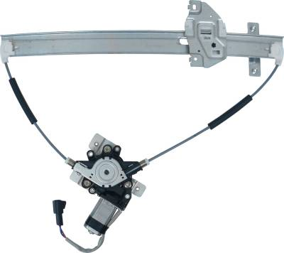ACDelco - ACDelco Professional Front Driver Side Power Window Regulator with Motor 11A516