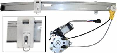 ACDelco - ACDelco Professional Rear Passenger Side Power Window Regulator with Motor 11A536