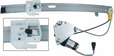 ACDelco - ACDelco Professional Rear Passenger Side Power Window Regulator with Motor 11A544