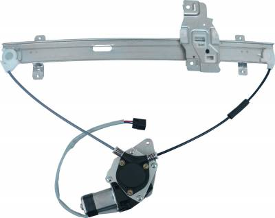 ACDelco - ACDelco Professional Front Driver Side Power Window Regulator with Motor 11A557