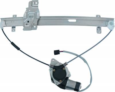 ACDelco - ACDelco Professional Front Passenger Side Power Window Regulator with Motor 11A558