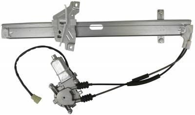 ACDelco - ACDelco Professional Front Passenger Side Power Window Regulator with Motor 11A589