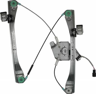 ACDelco - ACDelco Professional Front Passenger Side Power Window Regulator with Motor 11A608