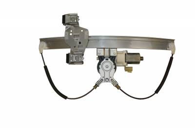 ACDelco - ACDelco Professional Rear Driver Side Power Window Regulator with Motor 11A609