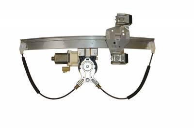 ACDelco - ACDelco Professional Rear Passenger Side Power Window Regulator with Motor 11A610