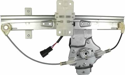 ACDelco - ACDelco Professional Rear Driver Side Power Window Regulator with Motor 11A611