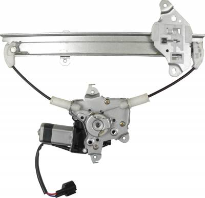 ACDelco - ACDelco Professional Rear Driver Side Power Window Regulator with Motor 11A621