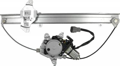 ACDelco - ACDelco Professional Front Passenger Side Power Window Regulator with Motor 11A648