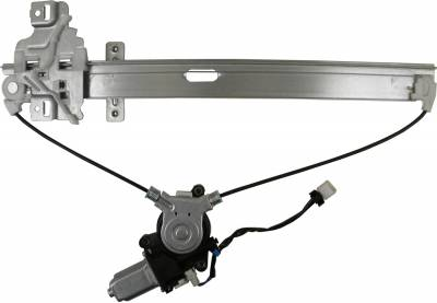 ACDelco - ACDelco Professional Rear Driver Side Power Window Regulator with Motor 11A651
