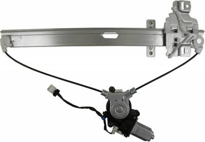 ACDelco - ACDelco Professional Rear Passenger Side Power Window Regulator with Motor 11A652