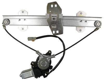ACDelco - ACDelco Professional Rear Driver Side Power Window Regulator with Motor 11A653