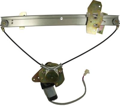 ACDelco - ACDelco Professional Front Passenger Side Power Window Regulator with Motor 11A662