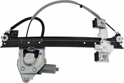 ACDelco - ACDelco Professional Rear Driver Side Power Window Regulator with Motor 11A667