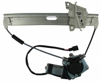ACDelco - ACDelco Professional Rear Driver Side Power Window Motor and Regulator 11A707