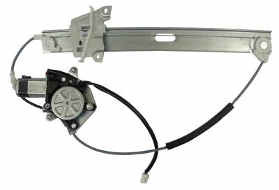 ACDelco - ACDelco Professional Rear Passenger Side Power Window Motor and Regulator 11A710