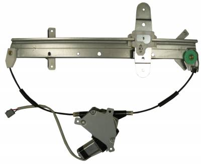 ACDelco - ACDelco Professional Rear Passenger Side Power Window Regulator with Motor 11A72