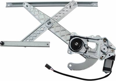 ACDelco - ACDelco Professional Front Driver Side Power Window Regulator with Motor 11A73