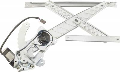 ACDelco - ACDelco Professional Front Driver Side Power Window Regulator with Motor 11A75
