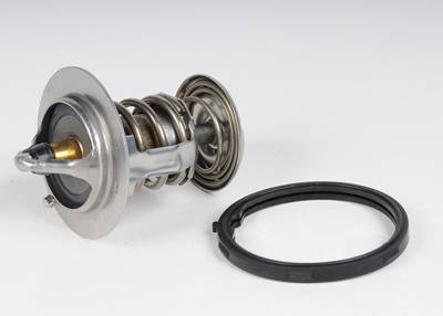 ACDelco - ACDelco GM Original Equipment 187 Degrees Engine Coolant Thermostat with Seal 131-160