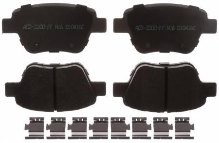 ACDelco - ACDelco Advantage Ceramic Rear Disc Brake Pad Set 14D1456CH