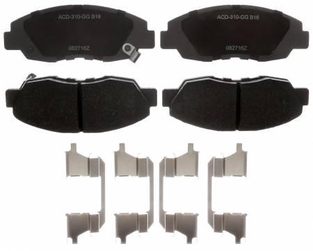 ACDelco - ACDelco Advantage Ceramic Disc Brake Pad 14D465ACHF1