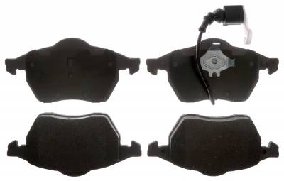 ACDelco - ACDelco Advantage Ceramic Front Disc Brake Pad Set 14D687AC