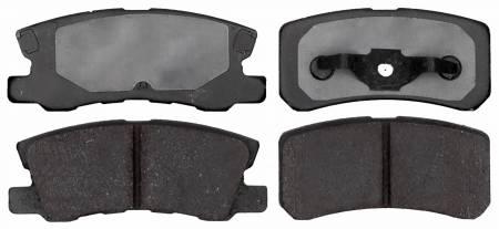 ACDelco - ACDelco Advantage Ceramic Disc Brake Pad 14D868CHF1