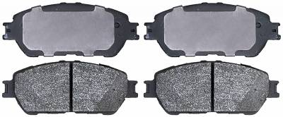 ACDelco - ACDelco Advantage Ceramic Front Disc Brake Pads 14D906ACHF1