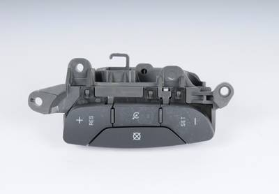ACDelco - ACDelco GM Original Equipment Dark Titanium Cruise Control Switch 15824107