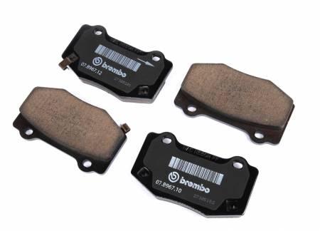 ACDelco - ACDelco GM Original Equipment Rear Disc Brake Pad Set 171-1126