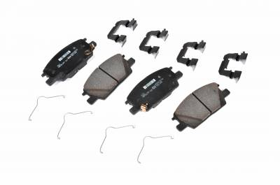 ACDelco - ACDelco GM Original Equipment Front Disc Brake Pad Kit with Brake Pads and Clips 171-1208