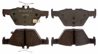 ACDelco - ACDelco Professional Ceramic Rear Disc Brake Pad Set 17D1808C