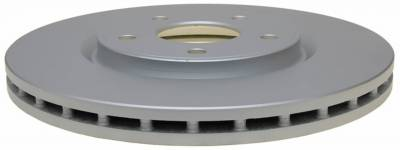 ACDelco - ACDelco Advantage Coated Front Disc Brake Rotor 18A2921AC