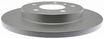 ACDelco - ACDelco Advantage Coated Front Disc Brake Rotor 18A81033AC