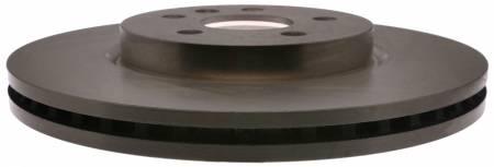 ACDelco - ACDelco Advantage Non-Coated Front Disc Brake Rotor 18A81034A