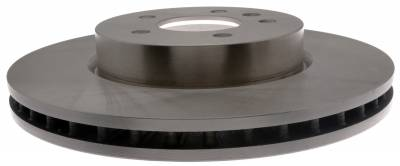 ACDelco - ACDelco Advantage Non-Coated Front Disc Brake Rotor Assembly 18A81048A