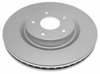 ACDelco - ACDelco Professional Front Disc Brake Rotor Assembly 18A81055