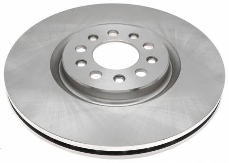 ACDelco - ACDelco Advantage Non-Coated Front Disc Brake Rotor 18A81768A