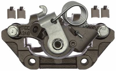 ACDelco - ACDelco Professional Rear Driver Side Disc Brake Caliper Assembly without Pads (Friction Ready Non-Coated) 18FR12474