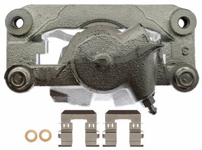 ACDelco - ACDelco Professional Front Disc Brake Caliper Assembly without Pads (Friction Ready Non-Coated) 18FR12571