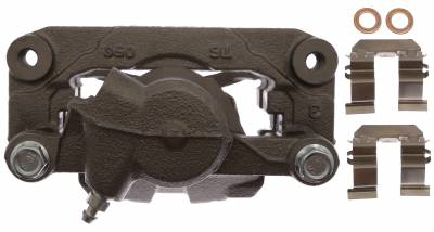 ACDelco - ACDelco Professional Front Disc Brake Caliper Assembly without Pads (Friction Ready Non-Coated) 18FR12572