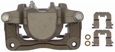 ACDelco - ACDelco Professional Front Disc Brake Caliper Assembly without Pads (Friction Ready Non-Coated) 18FR12581