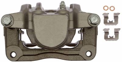 ACDelco - ACDelco Professional Front Disc Brake Caliper Assembly without Pads (Friction Ready Non-Coated) 18FR12582