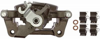 ACDelco - ACDelco Professional Front Disc Brake Caliper Assembly without Pads (Friction Ready Non-Coated) 18FR12587