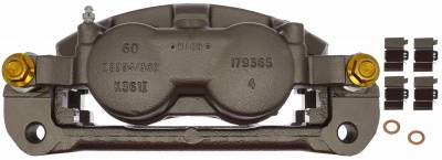 ACDelco - ACDelco Professional Front Disc Brake Caliper Assembly without Pads (Friction Ready Non-Coated) 18FR12593